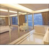 Wholesale CR80 Bedroom Interior Sliding Glass Door, Aluminum Partition Sliding Door With Hollow Glass Factory from china suppliers