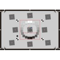 Wholesale SineImage ISO 12233:2014 E-SFR test charts MTF test chart - Standard Version measuring performance near the image bounda from china suppliers