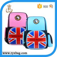 Wholesale European UK flag school backpack bag for kids from china suppliers