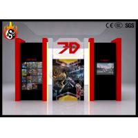 China Indoor Use 7D Cinema System with Beautiful Cinema Cabin , 7D Theater on sale