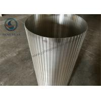 Wholesale High Efficiency Rotary Drum Screen , Wire Cylinder Basket SS 304 Grade from china suppliers