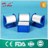 Wholesale Surgical  paper tape  white and skin colour with dispenser/cutter from china suppliers
