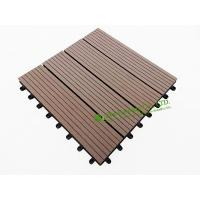 Latest wpc decking tile buy wpc decking tile for Garden decking for sale