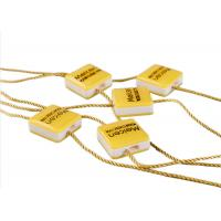 Wholesale Clothing Plastic Seal Tag Locking Fasteners Yellow Square Shape For Dress Scarf from china suppliers