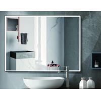 China Hospitality Lighted Touch Screen Bathroom Mirror With Defogger Function on sale