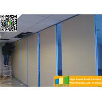 Wholesale Sliding Ultrahigh Soundproof Folding Movable Wall Panels For High Exhibition Hall Dividers from china suppliers
