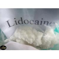 High Purity Local Anesthetic Steroid Raw Powder Lidocaine Base / Xylocaine CAS