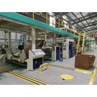 Wholesale Fully Automatic  Corrugated cardboard production line-double facer from china suppliers