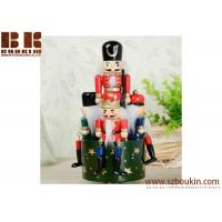 Wholesale New year christmas 25/30 CM honor guard ornaments Hand-painted wooden nutcracker from china suppliers