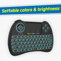 Airmouse Rii Portable Mini Wireless Keyboard78 Channels 15M Control Distance