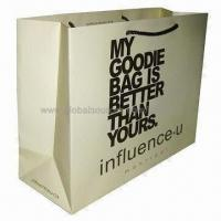 Wholesale Paper gift bag with offset printing, eco-friendly from china suppliers