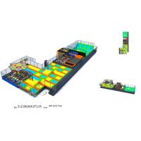 Wholesale 836 M2 Trampoline Attraction Multi Game Indoor Playground Trampoline World from china suppliers