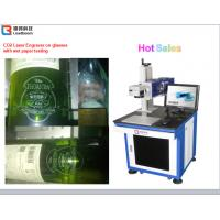 Wholesale High Speed CO2 Laser Marking Machine Semiconductor Laser Marker Wooden Printing from china suppliers