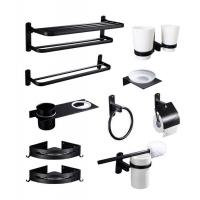 Buy cheap Brass Aluminum Home Bathroom Accessories Towel Rack Glue Stick Easy Installation from wholesalers