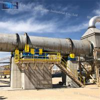 Wholesale Custom Voltage Rotary Lime Kiln For Metallurgy / Chemical / Building Industry from china suppliers