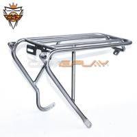 Wholesale Grade 9 Brompton Bike Spare Parts Titanium Alloy Rear Rack For Bicycle Disc Edition from china suppliers