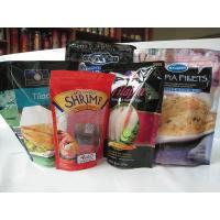 Gravure Printing Resealable Zip Lock Food Packaging Bags Self Standing Pouch