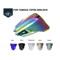 Wholesale Aftermarket Motorcycle Parts Windscreen Wind Deflector , Windscreen Motorcycle Auto Parts For Yamaha from china suppliers
