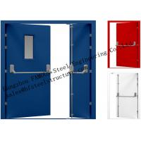 Wholesale Galvanized Industrial Hollow Steel Fire Doors For Residential Application from china suppliers