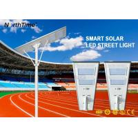 Wholesale 120W 13000LM 7 Rainy Days 150W Solar Panel Roadway Solar Powered Street Lights from china suppliers