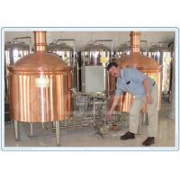 Wholesale Industrial Fermentation Tank Small Beer Brewery Equipment Red Copper Material from china suppliers