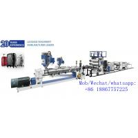China PC two layers plastic extrusion machine plastic bag extrusion machines for luggage bag on sale