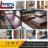 Wholesale Factory offer mdf door Kitchen cabinet Vacuum Membrane Press Machine from china suppliers