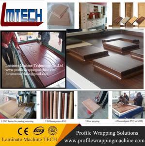 China kitchen cabinet wooden doors vacuum membrane press machine price on sale