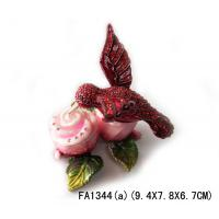 Wholesale 2014 Colorful Birds Jewelry Box Crystal Magestic Jewelry Box from china suppliers