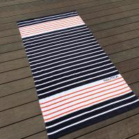 Wholesale Eco Friendly Chevron Printed Beach Towels For Shower High Water - Absorbing from china suppliers