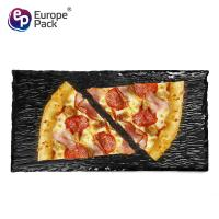 Wholesale EPK new products 11 inch square dinner black slate stone plate from china suppliers