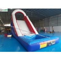 Wholesale Back Load US Commercial Inflatable Water Slides For Kids / Children from china suppliers