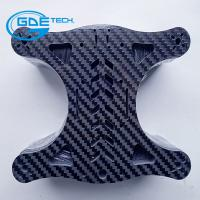 Wholesale glossy matte woven carbon fiber universal plate, carbon fiber cnc cutting parts for drones from china suppliers