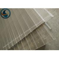 Wholesale Flat Johnson Type Wedge Wire Screen Panels For Water Treating Equipment from china suppliers