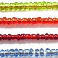 Wholesale Glass Seed Jewelry Beads in Silver Line Colors, with Round, Bugle and 2-cut Shapes from china suppliers