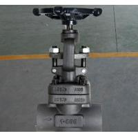 Quality Globe Bolted Bonnet Forged Steel Valve , Rising Stem Reduced Bore Valve F304 for sale