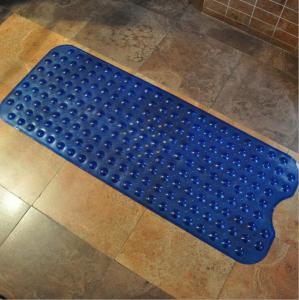 China Custom Extra Long Tub Bath Mat Floor Mat Anti Slip Mat PVC Mats, Size100*40CM, With Cheap Factory Price on sale