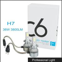 Wholesale New 360° Viewing Angle LED H7 Headlight 36W C6 Lighting Bulb IP67 Waterproof for Jeep from china suppliers