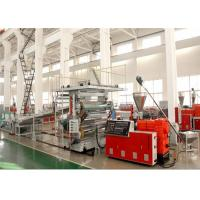 Wholesale 1220 mm PVC Marble Plastic Sheet Extrusion Line , PVC Decorative Wall Panel Making Machine from china suppliers