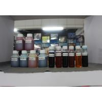 China LED UV Metallic Printer Ink , White Printer Ink with Rubbing Wear Color Fastness 5 on sale