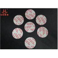 Biodegradable Fiber Desiccant , Round Shaped Moisture Absorbent Packs For Pharmaceuticals