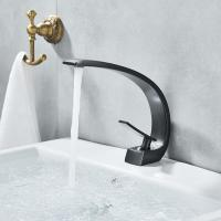 Wholesale Single Handle Bathroom Basin Faucets , Polished Brass Bathroom Sink Faucet from china suppliers