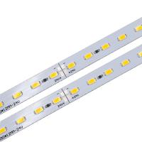 Wholesale DC 24V Rigid LED Strip PCB Board Module with SMD 5630 LEDs for Shelves or Counters Lighting from china suppliers