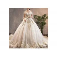 Buy cheap Ropes Back Style Long Tail Bridal Gown / Mermaid Style Bridal Dresses from wholesalers