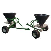 Wholesale 350LBS Towbehind Turf ATV fertilizer spreader from china suppliers