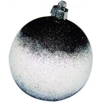 China Decorative Xmas Balls , Hand Blown Glass Christmas Ornaments For Gift on sale