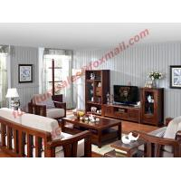 Wholesale High Quality Solid Wooden Frame with Upholstery Sofa Set from china suppliers