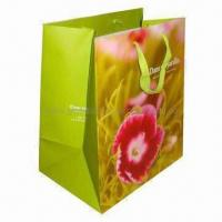 Wholesale Eco-friendly Paper Bag for Gift Packaging, Available in Small Minimum Order Quantity from china suppliers