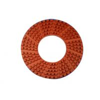 China 11 Inches Diamond Granite Floor Polishing Pads High Gloss Finishes Hook / Loop Connection on sale