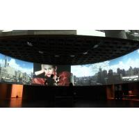 Wholesale Large Tripod Motorized Curved Projection Screen Home Movie Theater Projectors from china suppliers